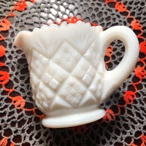 Other - Vintage Milk Glass Creamer